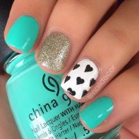 80 Nail Designs for Short Nails | Turquoise nail designs ...