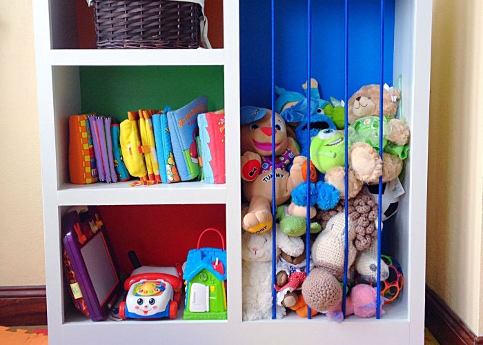 Repurposed bookshelf ideas also kids rooms and room