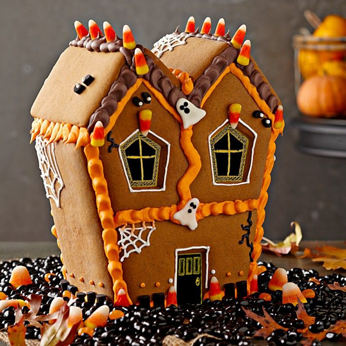 Williams Sonoma's Haunted Gingerbread House Kit Halloween