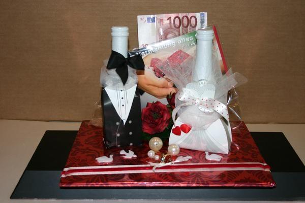 Geschenk zur Hochzeit HochzeitDeko Pinterest
