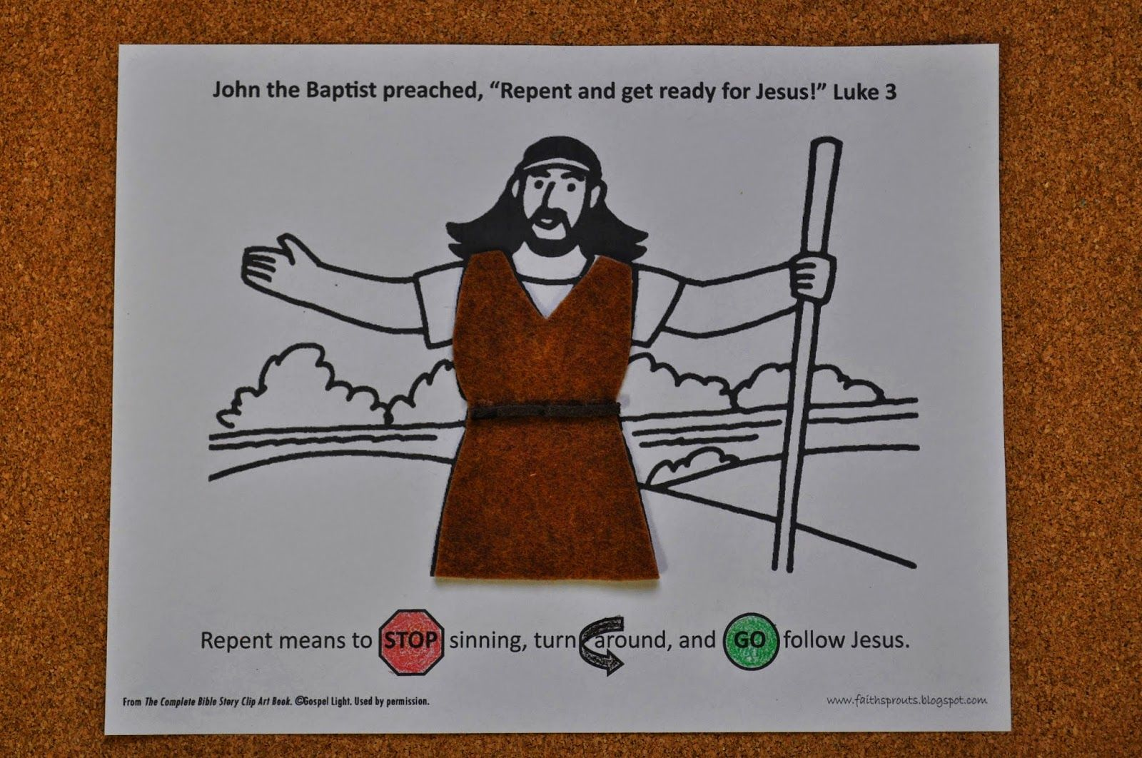 Faith Sprouts John The Baptist Repentance And Baptism