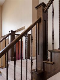stairway wrought iron balusters | wrought iron balusters ...