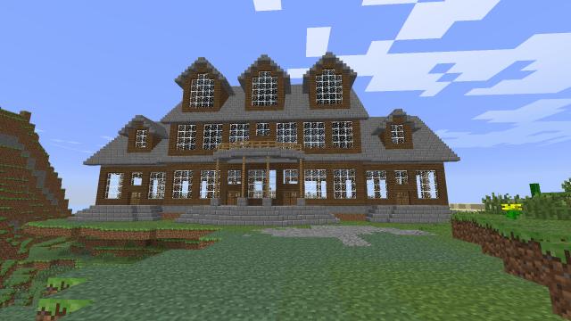 Mansion Build Interior Or Exterior Ideas? Screenshots Show
