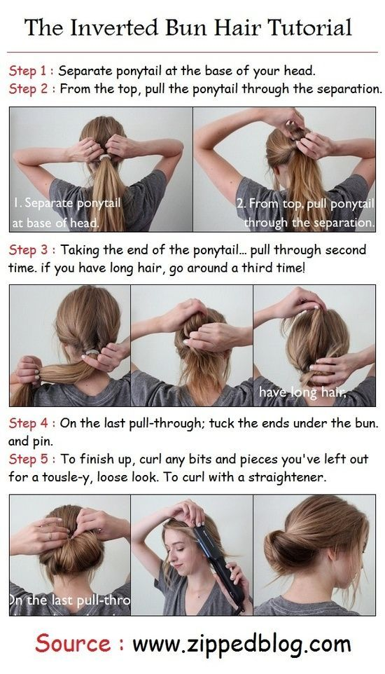 Easy Updo For Long Hair Hairstyle Tutorials Pinterest Updo