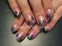 By tina! Nails acrylics and custom nail art designs. Wild ...