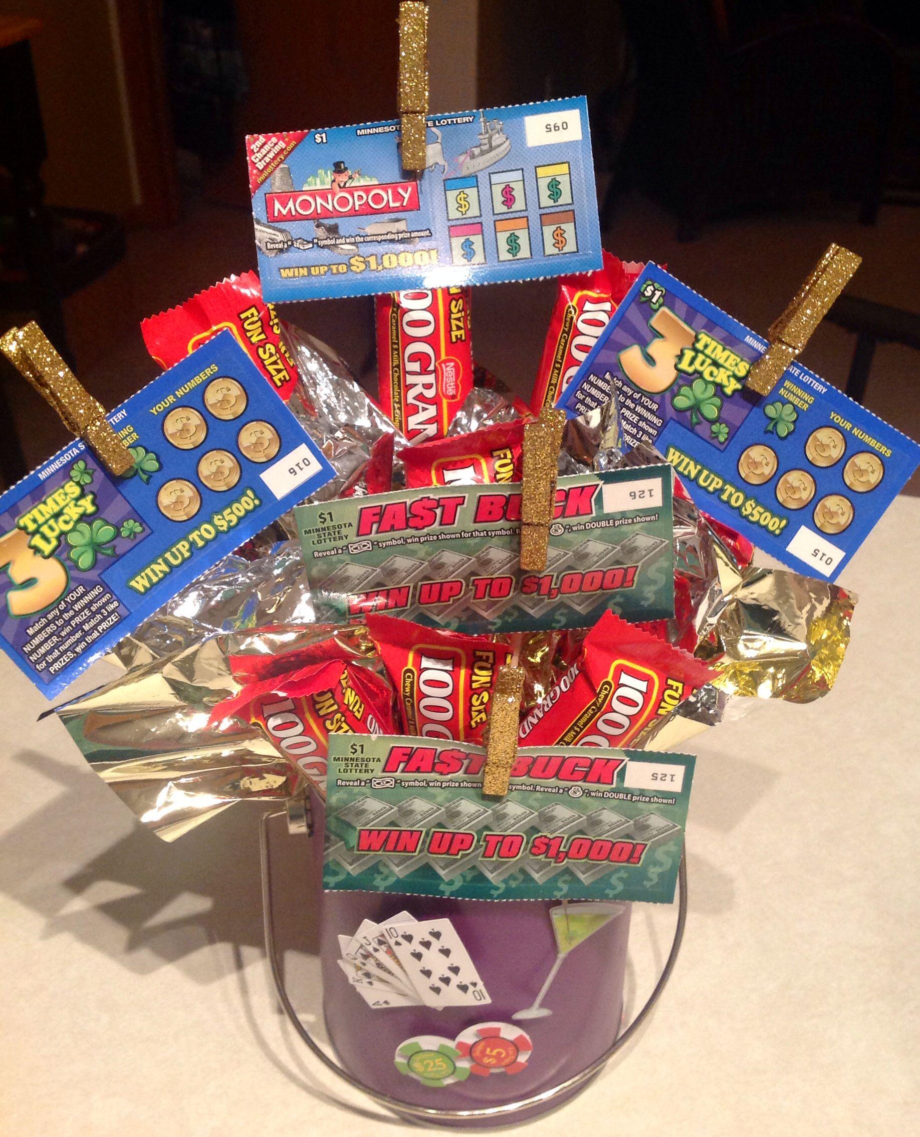 Lottery Basket Raffle