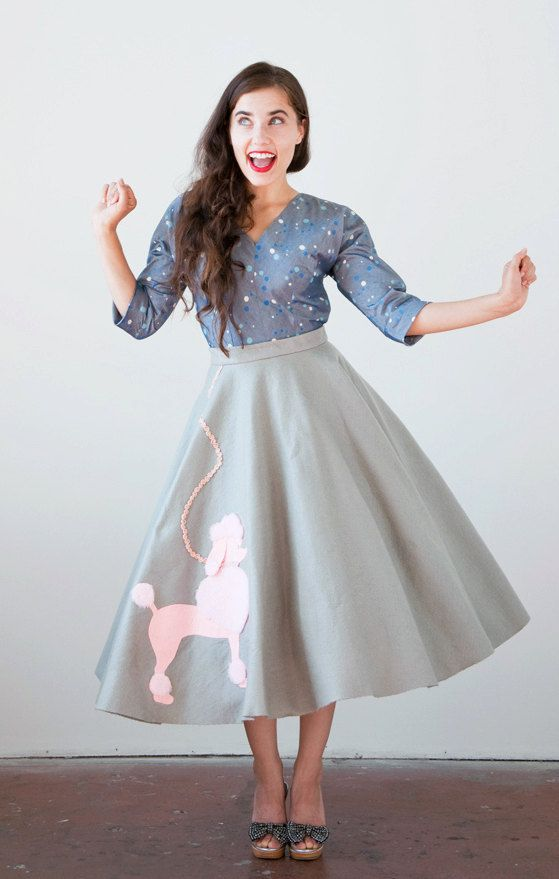 How To Wear A Poodle Skirt The Vintage Solution Blogged