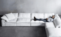 The dreamy Cloud sofa, inspired by British designer