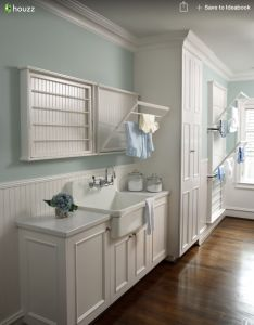 Bathroom idea for my long narrow drying racks  so need these new house has  very tiny laundry room and would be perfection also from houzz gorgeous homes pinterest rh