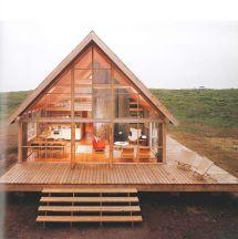 Compact Timber-frame - Jens Risom Kit Homes Modern Mch