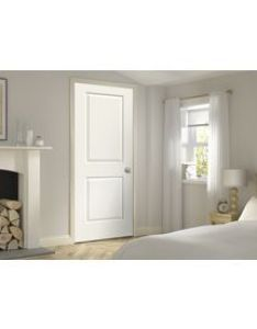 Jeld wen cambridge white panel square single prehung interior door common also rh pinterest