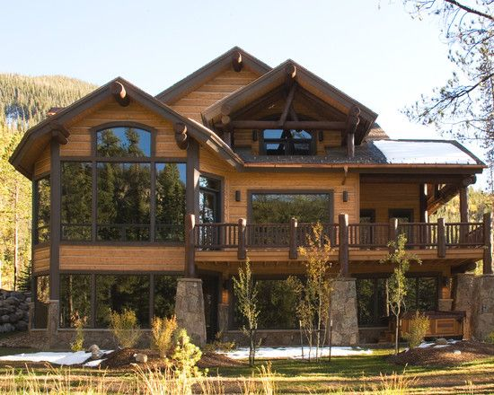 Creative Mountain Home Exterior With Inspiring Ideas Charming