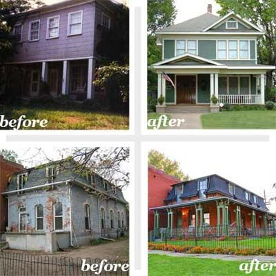 Best Whole House Before And Afters 2010 House Curb Appeal And