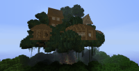 Cool minecraft tree house designs - Home design and style