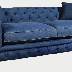 Blue Jean Stain On Sofa Coaster Gus Sectional Denim Sofas For A Cindy Crawford Home Beachside