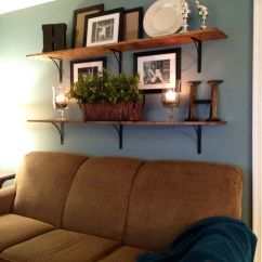 Wall Sofa Dfs Grey Fabric Bed Shelves Above Home Living Room Pinterest