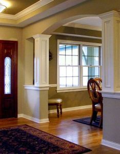 Columns big dresser table skylight beautiful living room for the homestead pinterest entry ways and to die also way rh in