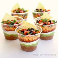 15 Party Finger Foods Graduation Party Foods Mexican Dips And