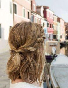 super trendy easy hairstyles for school also simple twist hairdo short hair women rh pinterest
