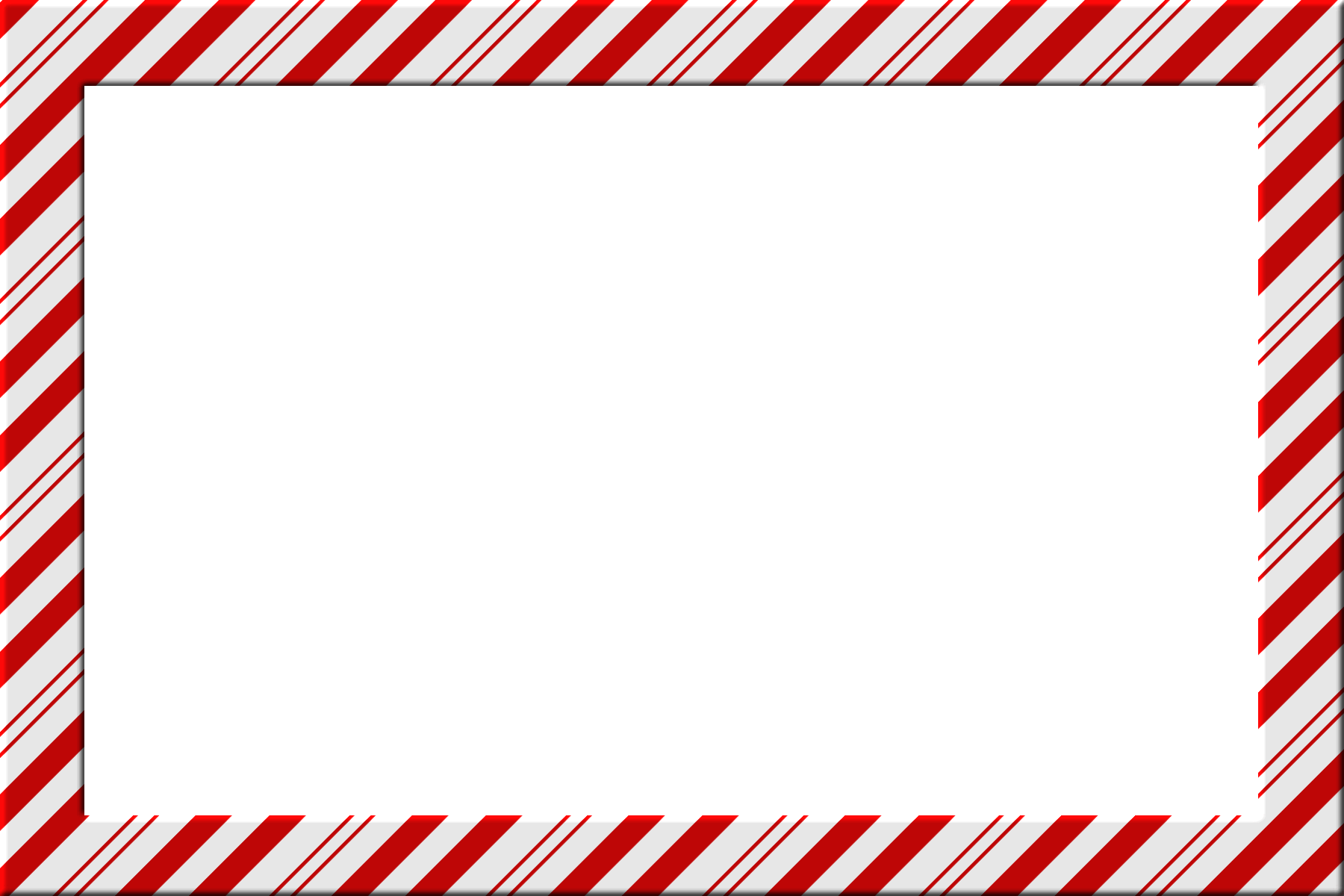 Candy Cane Clip Art Borders