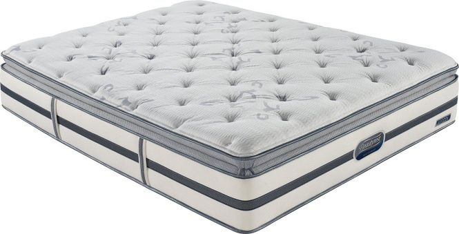 Beautyrest Recharge Montano Plush Pillow Top Mattress Queen Size Is Designed In Pocketed Coil Technology To Deliver Amazing Conformability And