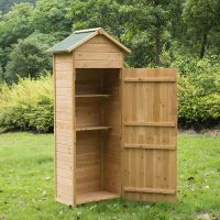 Details about New Wooden Garden Shed Apex Sheds Tool ...