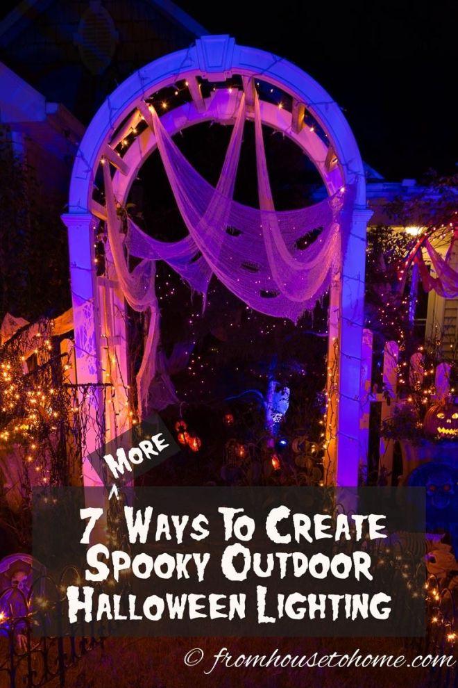 7 spectacular ways to create spooky halloween outdoor