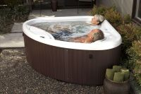 Recharge with a #HotSpringSpas compact hot tub! Perfect ...