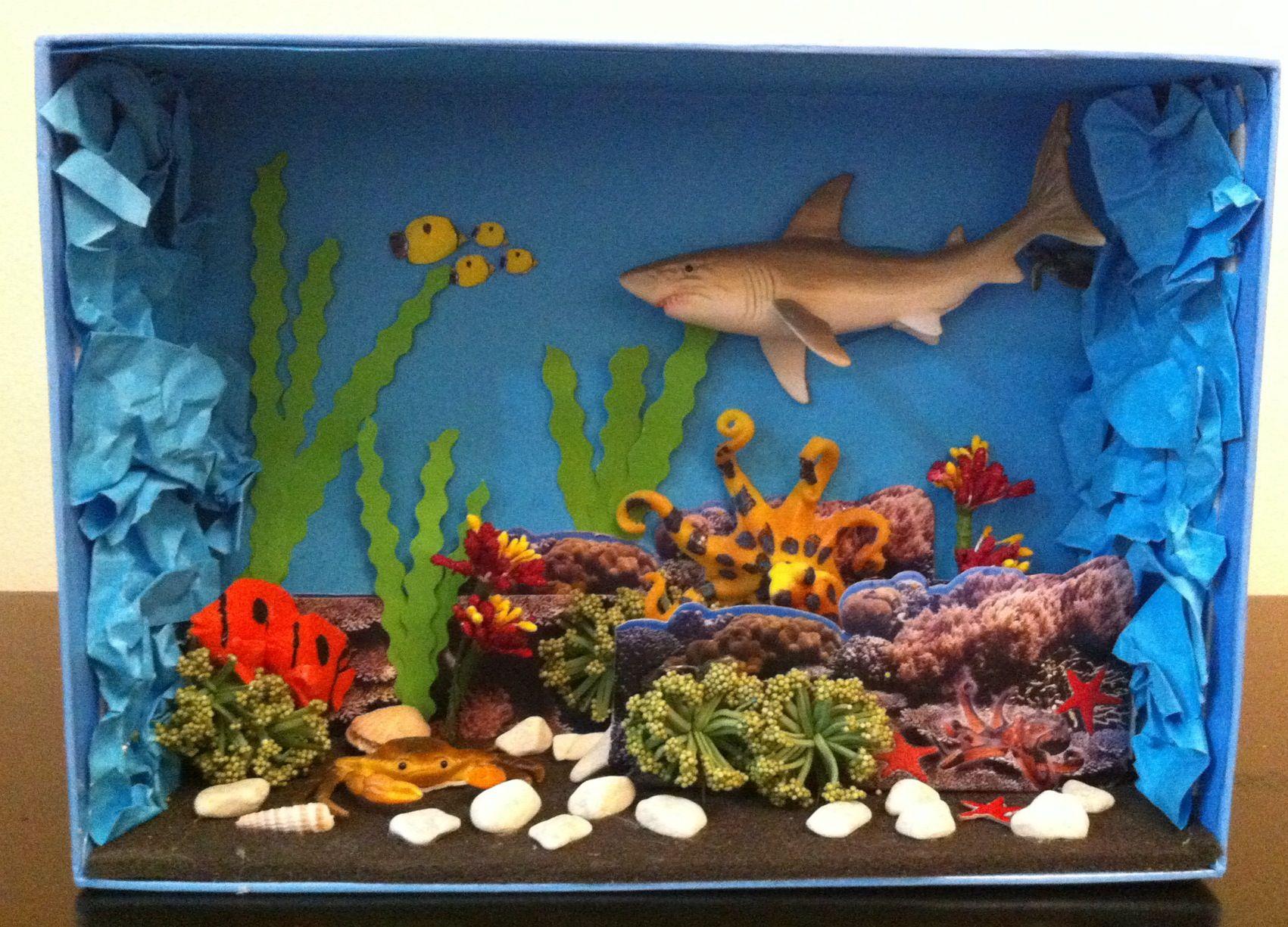 My Mini Diy Deep Sea View For My Daughter S Science