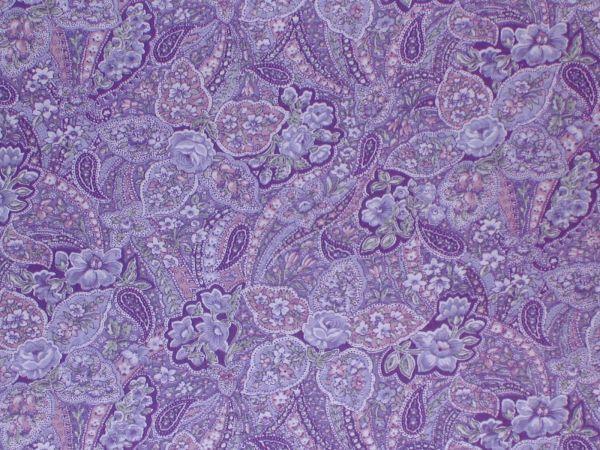 Color Lila - Lilac Paisley