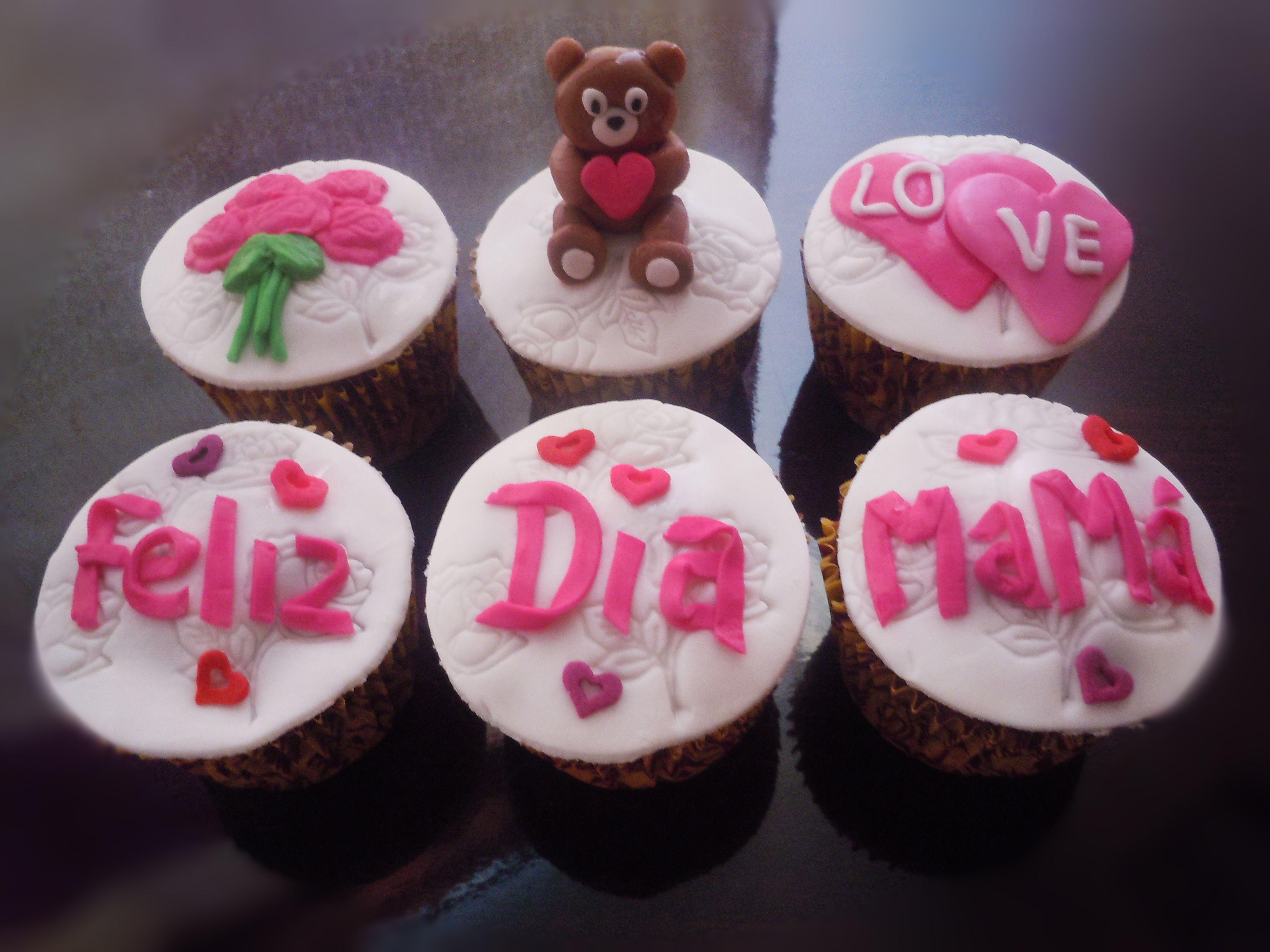 Cupcakes Feliz Día Mamá