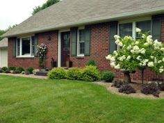 Landscaping For Red Brick Ranch House Google Search Garden