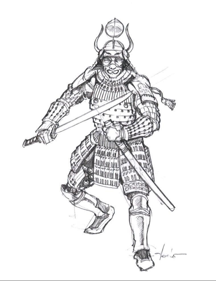 Samurai Easy Armor Draw