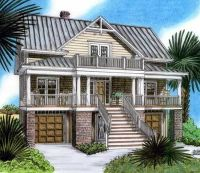 Plan 15019NC: Raised Beach House Delight | Raising, Beach ...