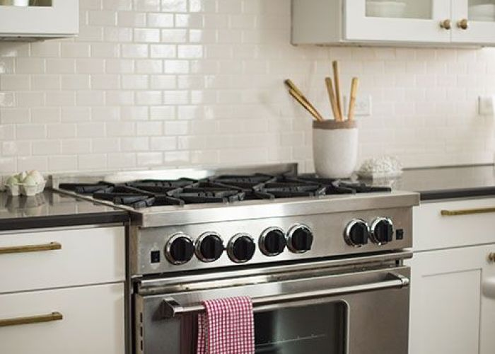 Glass front white cabinetry subway tile reclaimed wood rangehood range hoodskitchen also best the perfect kitchen images on pinterest