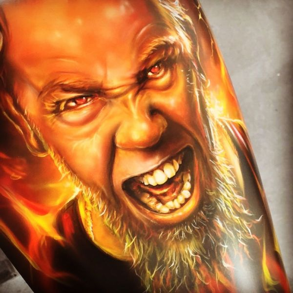 Mike Lavallee Airbrush Art