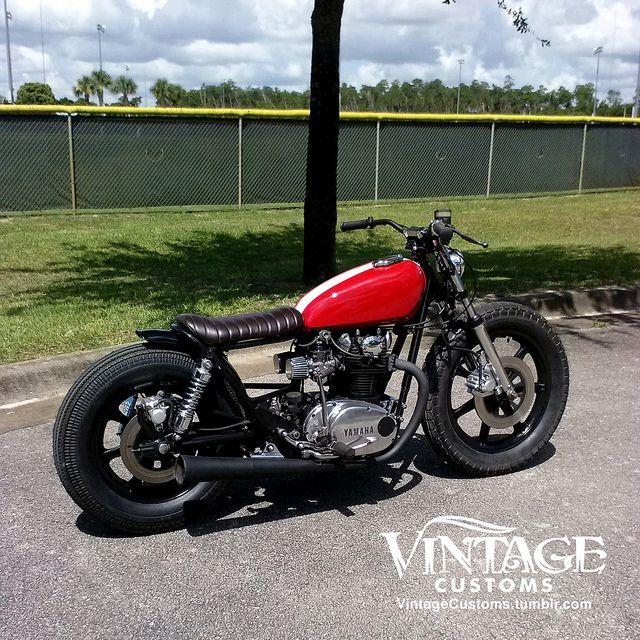 Xs650 Bratstyle Bobber Brat Yamaha