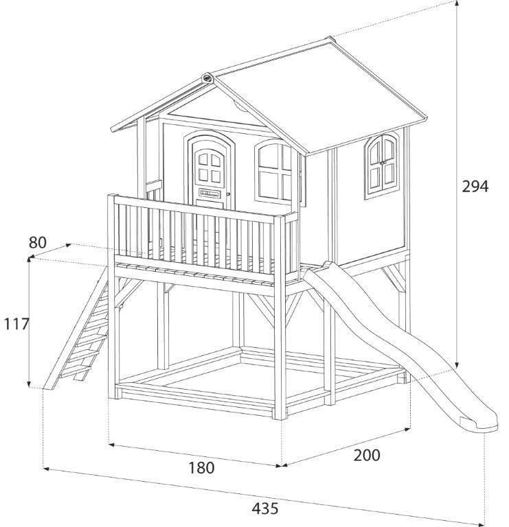 plan pour fabriquer une cabane jardin