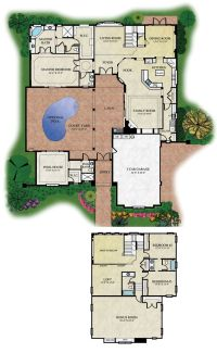 courtyard floorplans