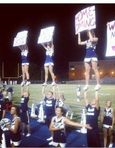 homecoming ideas to ask a cheerleader