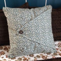 Sewing Sofa Cushion Covers Bedroom Corner No Sew Pillow Cover Pillows Pinterest