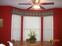Kitchen Bay Window Ideas Avalon No Sew Window Cornice ...