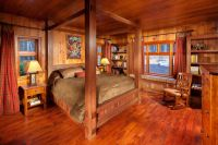 old log cabin porch ceiling | Master Bedroom ...