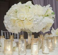 Centerpieces for White Wedding Reception   Inspirations ...