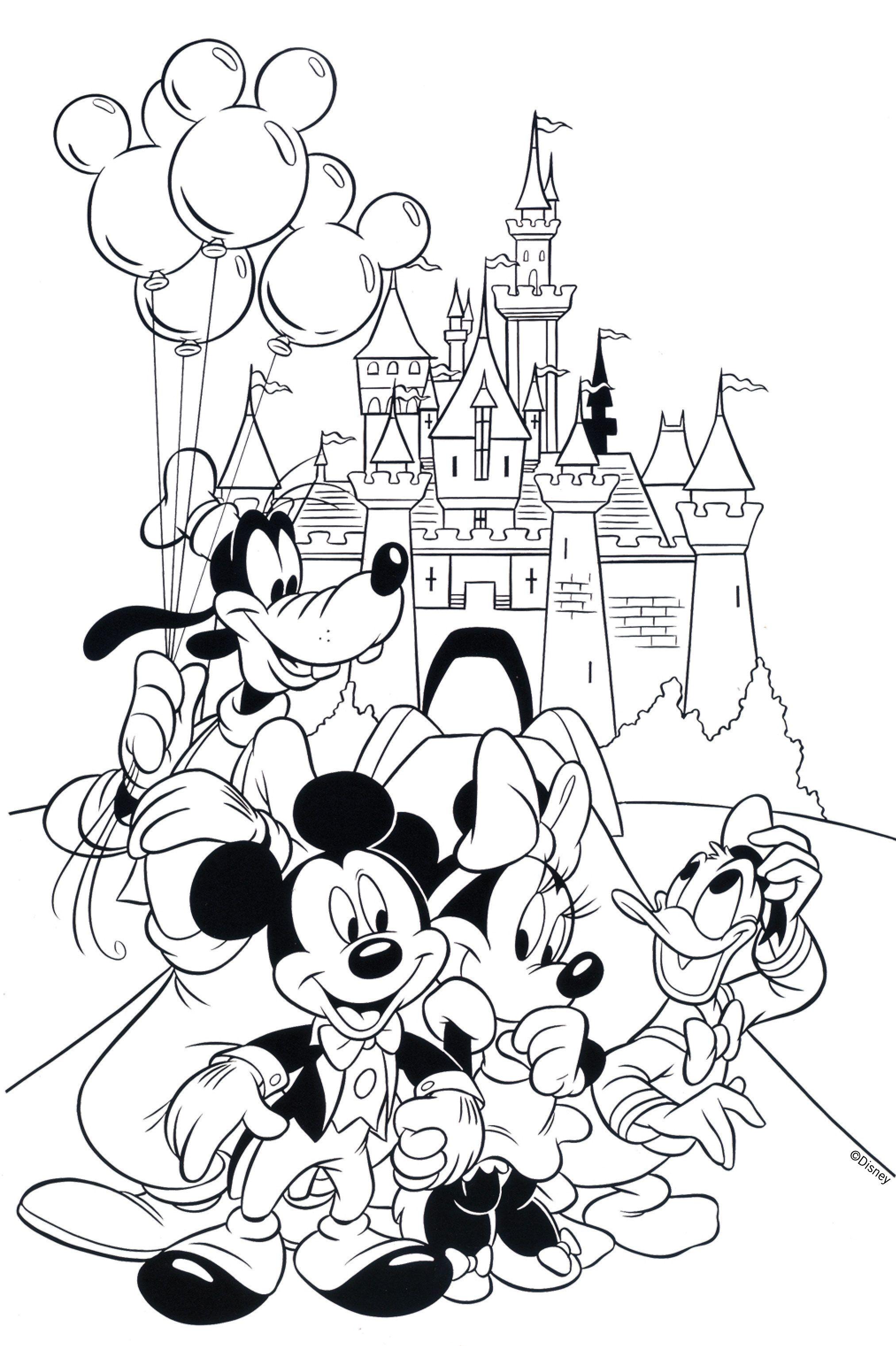 Coloring Cinderella Castle Coloring Pages Print L Coloration