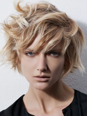 Textured European Bob Haircut Hair And Stuff Pinterest