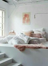 Bedroom | dusty pink | white | roomspiration | decor ...