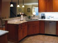 Stunning and Charming Kitchen Sink Base Cabinet Design ...