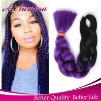 Two Tone Kanekalon Braiding Hair | ombre kanekalon ...