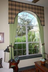 arch window treatment ideas   Arched Window Treatment ...